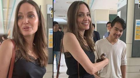 Angelina Jolie oğlundan ayrıldı!