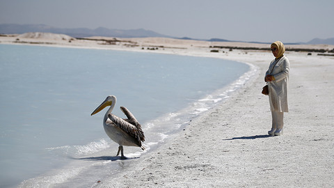 Emine Erdoğan Salda Gölü'nü inceledi!