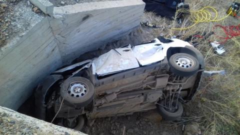 Erzurum'da kaza: 2'si çocuk 5 kişi öldü