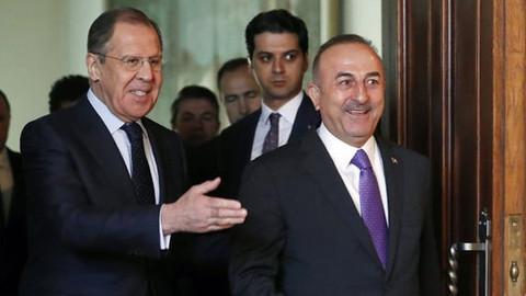 Çavuşoğlu, Lavrov ile görüştü!