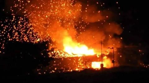 KKTC'de askeri bölgede patlama!