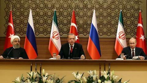 3'lü zirvenin ardından liderler açıklamalarda bulunuyor