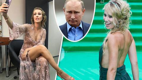 Putin'in manevi kızı, kendi düğününde striptiz yaptı