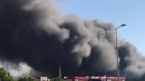 Meteoroloji'den Tuzla'daki yangınla ilgili açıklama!