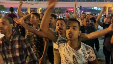 Mısır'da Sisi aleyhinde gösteriler yapıldı