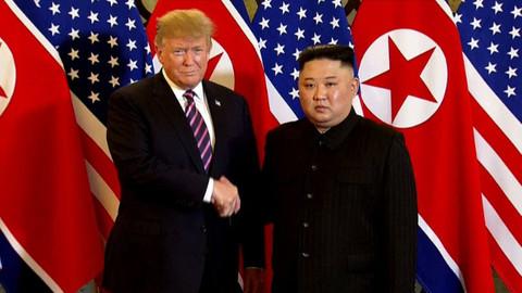 Trump'tan Kuzey Kore açıklaması: Kim Jong ile uyum yakaladık, yaptırım düşünmüyoruz