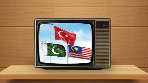 Türkiye, Pakistan ve Malezya harekete geçti! Ortak TV kanalı kuruluyor