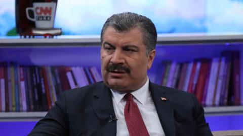 Sağlık Bakanı Fahretin Koca'dan deprem açıklaması