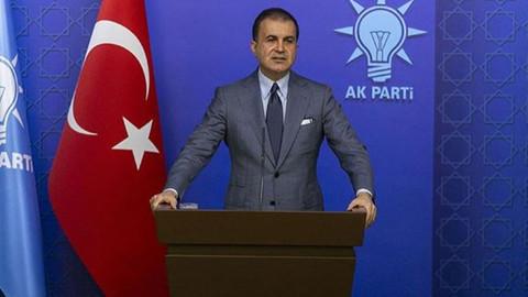 AK Parti Sözcü Ömer Çelik açıklamalarda bulunuyor