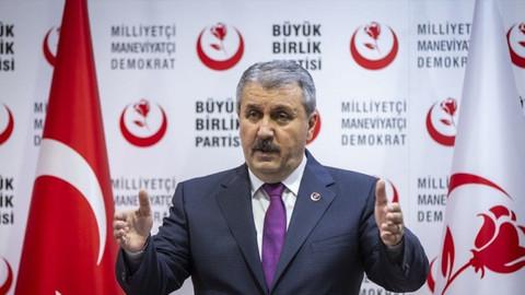 """BBP Genel Başkanı Destici, """"Ekonomik Reform Paketi""""ni değerlendirdi"""
