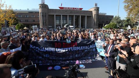 Ankara Garı saldırısında hayatını kaybedenler anıldı