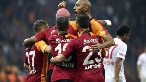 5 gollü maçın kazananı Galatasaray oldu