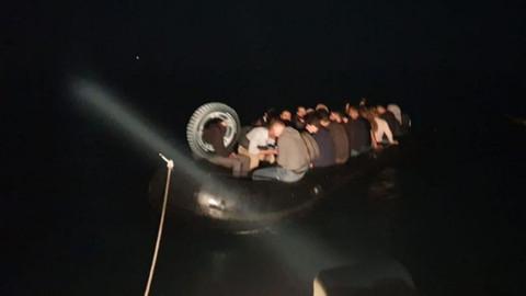 Muğla'da 12 kaçak göçmen yakalandı