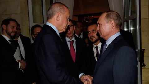Cumhurbaşkanı Erdoğan Rusya'dan ayrıldı
