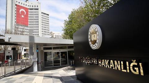Dışişleri Bakanlığı: Avrupa Parlamentosu'nun tutumunu reddediyoruz