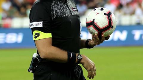 Süper Lig'de 10. haftanın hakemleri belli oldu
