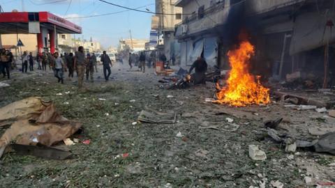 Tel Abyad'da bombalı saldırı: 10 sivil hayatını kaybetti