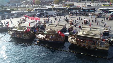 Eminönü'ndeki balıkçıların tahliyesi için karar