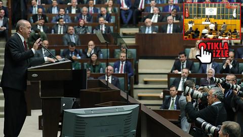 Meclis TV, AK Parti'nin grup toplantısını kesip HDP'yi yayınladı