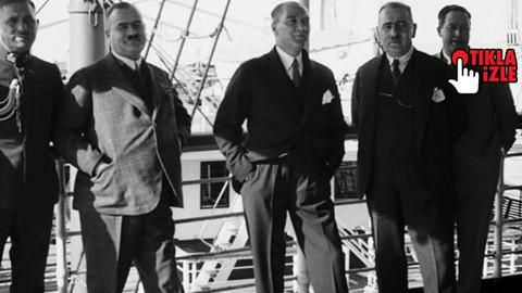 Atatürk'ün hiç yayınlanmamış görüntüleri!