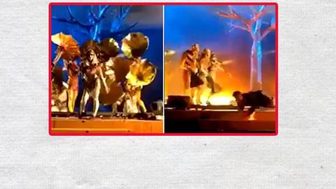 Suudi Arabistan'da 3 sanatçı sahnede bıçakla yaralandı