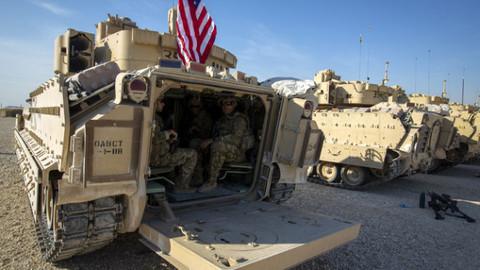 ABD'den Suriye'ye mekanize zırhlı araç takviyesi