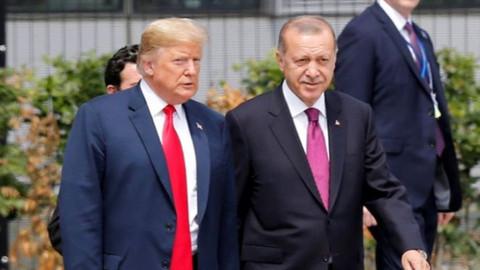 ABD medyasında Erdoğan Trump görüşmesi!