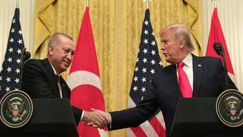 Cumhurbaşkanı Erdoğan, Trump görüşmesi sona erdi