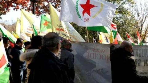 Beyaz Saray önünde Türkiye karşıtı gösteri