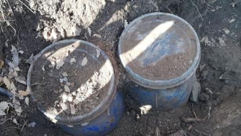 PKK'ya ait patlayıcı ve gıda malzemesi ele geçirildi