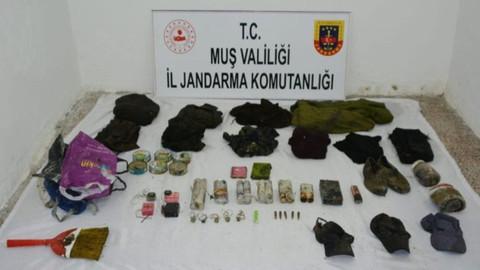 Terör örgütü PKK'ya ait 3 sığınak imha edildi