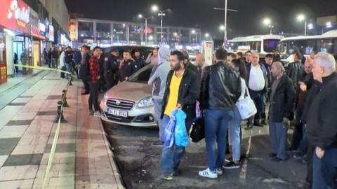 Otogarda silahlı saldırı