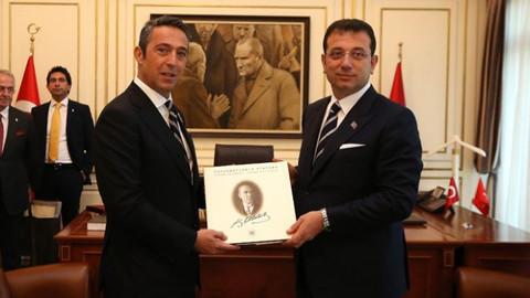 Ali Koç'tan Ekrem İmamoğlu'na ziyaret