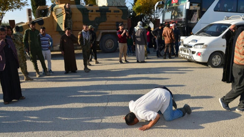 MSB görüntüleri paylaştı! Suriyeliler böyle döndü