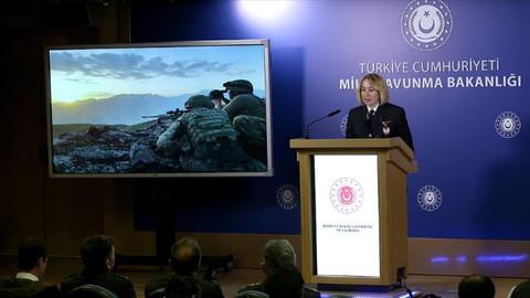MSB: Pençe operasyonlarında 170 terörist etkisiz hale getirildi