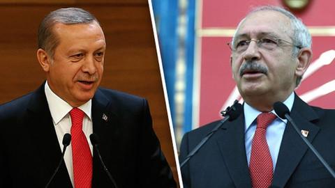 Erdoğan'dan Kılıçdaroğlu'na 250 bin liralık dava