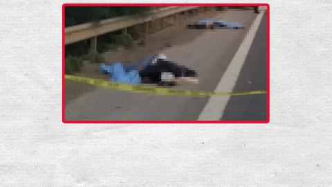 Otoyolda lastik değiştirirken TIR çarptı: 3 kişi öldü