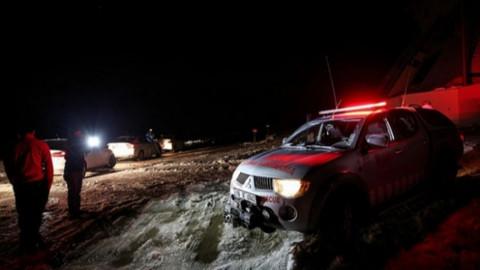 Uludağ'da kaybolan dağcıları arama çalışmaları sürüyor