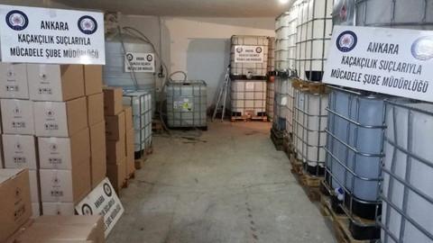 Ankara'da yılbaşı öncesi operasyon! 24 ton ele geçirildi