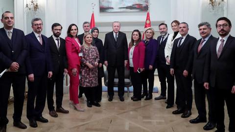 Cumhurbaşkanı Erdoğan: Dörtlü zirvenin ikincisi şubat ayında İstanbul'da