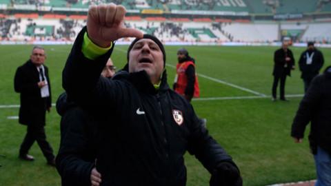 Sumudica'dan Konyaspor taraftarına küme düşeceksiniz işareti