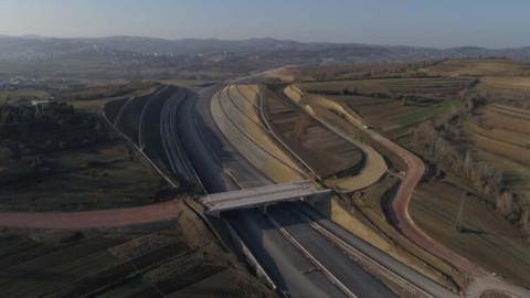 Kuzey Marmara Otoyolu'nun yüzde 85'i tamamlandı