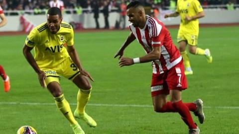 Sivasspor'u Fenerbahçe de durduramadı