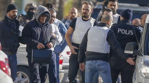 Antalya'da soygun girişimi