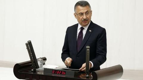Fuat Oktay'dan Doğu Akdeniz açıklaması: Hesap Vermez hesap sorarız
