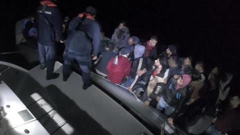 Muğla'da 31 düzensiz göçmen yakalandı
