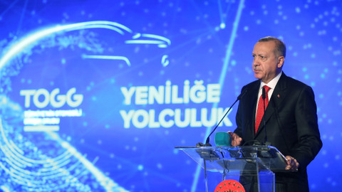 Cumhurbaşkanı Erdoğan, yerli otomobili tanıttı