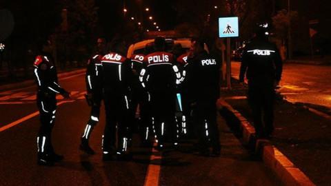 Polisin dur ihtarına uymadı