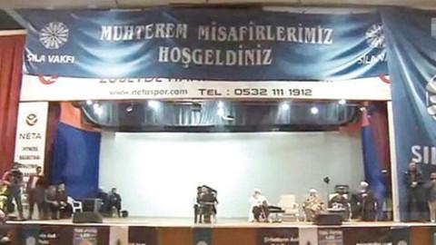 Atatürk posterinin üzerinin kapatılmasına soruşturma