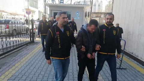 İnşaatlardan malzeme çalan 3 kişiden 2'si tutuklandı